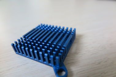 Blue Anodized Cold Forge Aluminium Heat Sink Profiles For Cooling System​