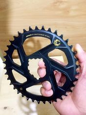Aluminum CNC Machining Parts 32T 34T 36T 38T Bike Single Chainring for 9 10 11 Speed