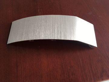 Brushed Anodized Rose Pink Color Aluminum Extrusion Profiles For Air Conditioner Panel
